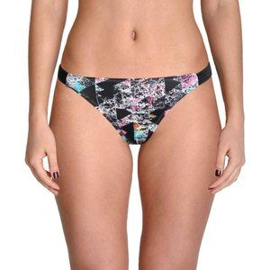 NWT Hula H Geo Print Strappy Hipster Bikini Bottom